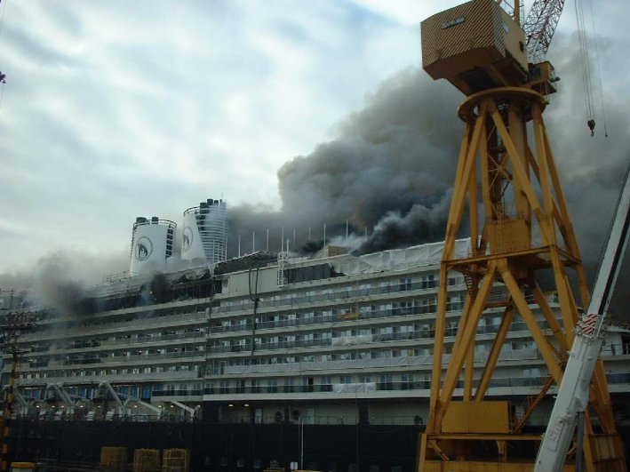 Westerdam Fire Submited Images